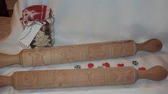 Sodrófa karácsonyi mintával - Sodrófa karácsonyi mintával - Nyújtófa/Sodrófa faragott mintával - Termékeink - Kézműves, kreatív , egyedi ajándékok webshop
