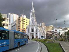 Ermita Church. Cali City, Colombia