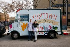 Yumtown, USA.  Catch this truck at Temple on weekdays during the school year.  They offer locally sourced ingredients! May we suggest the Edgar Allen Potato sandwich?