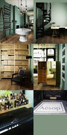 Aesop Concept Store London Earthy Unique Classic