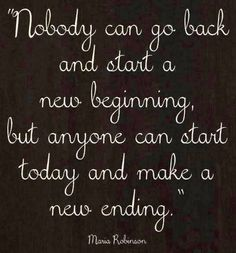 New beginning quote via www.LoveAndSayings.com or M.Y.O.D on Facebook