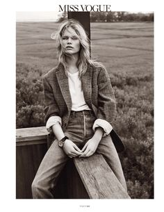 hamptons: anna ewers by josh olins for vogue paris october 2013   visual optimism; fashion editorials, shows, campaigns & more!