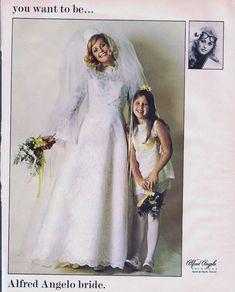 Wedding Dress Photos Bride's Spring 1970