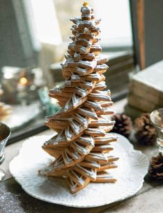 Christmas Tree of Cookies