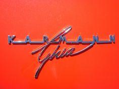 Karmann Ghia, a classic.