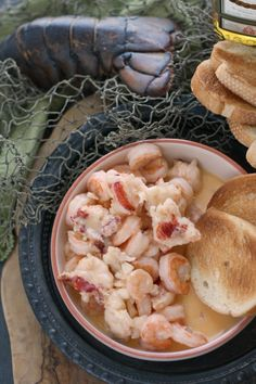 Dublin Lawyer (Lobster in Whiskey Cream Sauce)(Baking Shrimp Sauce) Lobster Recipes, Seafood Recipes, Cooking Recipes, Soup Recipes, Fish Dishes, Seafood Dishes, Lobster Dishes, Main Dishes, Recipes