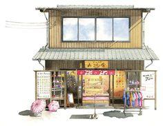 Fuyusha at Arashiyama Kyoto #kinfineart