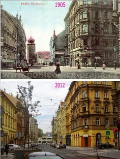 Praha v proměnách času VI. Old Photos, Vintage Photos, More Pictures, Funny Pictures, Prague Photos, Prague Czech, Old Paintings, Beautiful Places In The World, Czech Republic