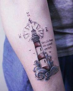 # Leuchtturm - Famous Last Words Future Tattoos, New Tattoos, Body Art Tattoos, Small Tattoos, Tattoos For Guys, Tattoos For Women, Octopus Tattoo Design, Tattoo Designs, Tattoo Ideas