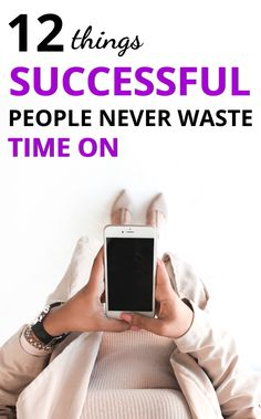 What are the characteristics of successful people? One key to success in life is time management. Here are 12 things successful people never waste time on. Development Quotes, Leadership Development, Self Development, Personal Development, Productive Things To Do, Things To Do When Bored, Habits Of Successful People, Time Management Quotes, Good Time Management