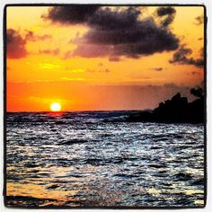 North Shore sunset!
