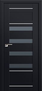 Milano-32U Black mat Interior Door