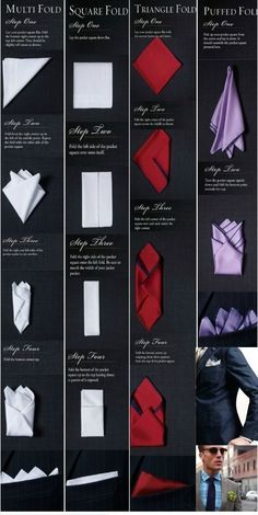 Pocket Squares How-to