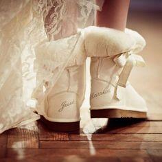 ugg bridal boots