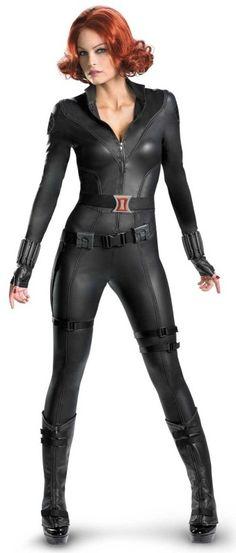 The Avengers Black Widow costume - sexy women's costume http://ajreports.com/qhth  #costume #blackwidow #avengers