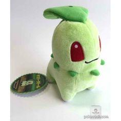 Pokemon Center 2015 Chikorita Secret Base Large Size Pokedoll Series Plush Toy