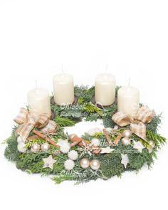 Adventní věnec Smetanové vánoce Advent Candles, Table Decorations, Home Decor, Decoration Home, Room Decor, Home Interior Design, Dinner Table Decorations, Home Decoration, Interior Design