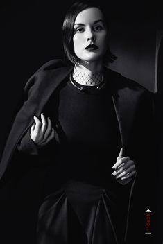 Michelle Dockery by Emma Summerton for Vogue Italia December 2013