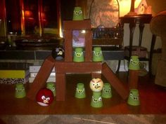 Angry Bird carnival  game I made for the kids at the community centre.
