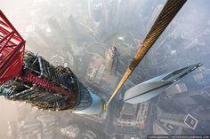 Vadim Makhorov + Vitaly Raskalov @ Shanghai Tower