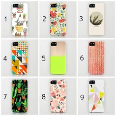 Cute iPhone cases: Bright + Colorful