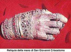 Chapter 1 The hand of St John Chrysostom on Mount Athos. Catholic Relics, Catholic Saints, Memento Mori, Incorruptible Saints, John Chrysostom, Orthodox Christianity, Macabre, Miraculous, Saint John