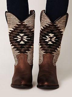 free people: billy blanket boot. $348.00.  want want want.  please someone give me enough money to buy these.