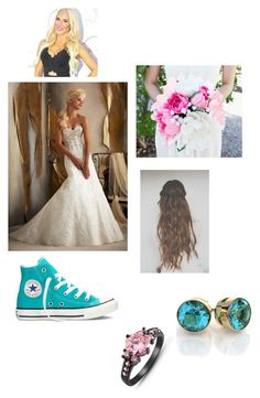 """""""Me at the wedding"""" by angel-ziggler-02 ❤ liked on Polyvore featuring Converse"""