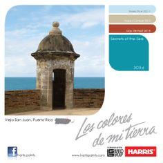 1000 images about harris paints on pinterest pintura - Pintura azul turquesa ...