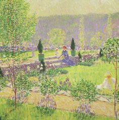 """""""Summer,"""" Will Howe Foote, ca. 1913, oil on canvas, Florence Griswold Museum."""