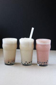 Almond Milk Bubble Tea Three Ways // Dula Notes