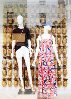 "J CREW LONDON SALE,"" with a pineapple twist "", pinned by Ton van der Veer"