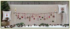 UB-Stickdesign Art.Nr. E-967 Weihnachtszeit Farbige Einzelanleitung in Buchdruckqualität EUR 9,90 Design Shop, Christmas Cross, Christmas Time, Cross Stitch Embroidery, Cross Stitch Patterns, Cross Stitch Finishing, Dmc, Christmas Embroidery, Le Point