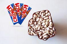RECETA FITNESS/ Chocolatinas CRUNCH proteicas sin azúcar