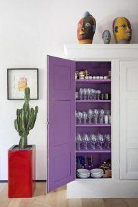 Ultra Violet Pantone color of the violet interior decor dining room ultraviolet 518054763380343000 Home Design, Home Interior Design, Interior Decorating, Interior Ideas, Decorating Ideas, Luxury Interior, Paint Inside Cabinets, Purple Furniture, Diy Casa