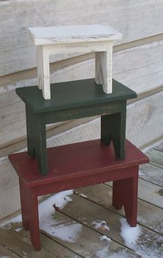 Love stacking benches...