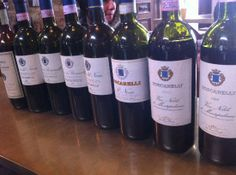 """Easter 2014: we've on tasting a vertical of Boscarelli ('82,'95,'99,'01,'05,'10), at """"E lucevan le stelle"""" wine bar & bistro in #Montepulciano #Tuscany"""