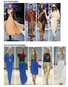 My favourite styles of Spring Summer 2014 COLLECTION apparel, shoes and make up by Jean Paul Gaultier, Jean-Charles de Castelbajac ------- i miei preferiti della COLLEZIONE moda Primavera Estate 2014 abbigliamento scarpe accessori e trucco
