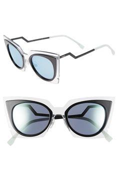 Fendi 49mm Cat Eye Sunglasses | Nordstrom