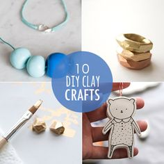 10 DIY clay crafts you'll love from Babble.com #crafts