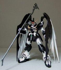 1/100 Six-winged Gundam Deathscythe Hell - Custom Build - Gundam Kits Collection News and Reviews