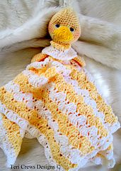 Duck Huggy Blanket - $5.50 by Teri Crews
