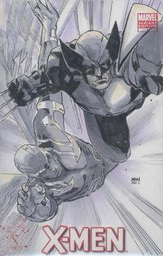 Wolverine and Arcangel by Clay Mann
