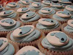 UNC cupcakes!!!