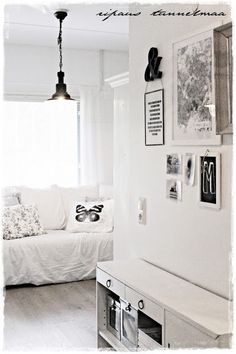 love this decor, from the blog ripaus tunnelmaa