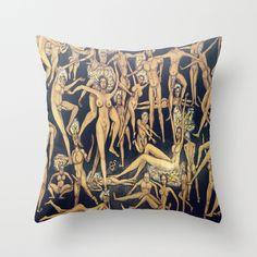 Joie+De+Vivre+Throw+Pillow+by+Octavious+Sage+-+$20.00