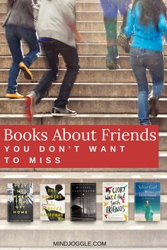 If you like books about friends, you'll love these fiction and nonfiction books about friendships. Immerse yourself in the stories of these long-term friendships and how they shape lives. Literary Fiction, Fiction And Nonfiction, Book Suggestions, Book Recommendations, Female Friendship, Popular Books, History Books, Great Books, Book Lists