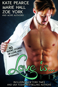 My romcom short story, When Eva Gets Even, is included in the Love Is romance anthology, coming August 5, 2014.