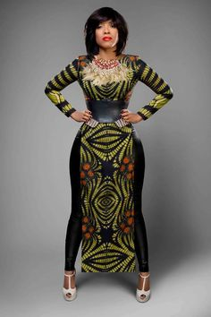 La Princessa World: Joselyn Dumas For New African Woman Issue 20