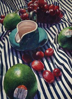 "Happy by Chris Krupinski Watercolor ~ 30"" x 22"""